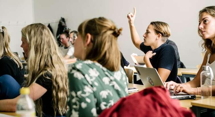 Studerende på City Campus